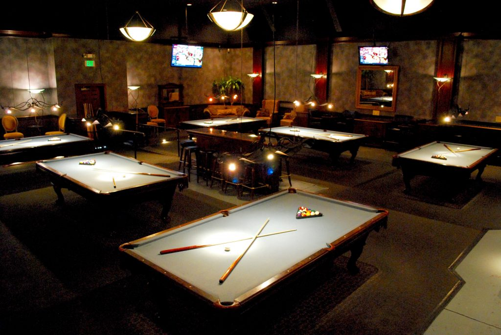 Billiards And Banquet Room Burlingame CA Steelhead Brewing Co - Room needed for pool table